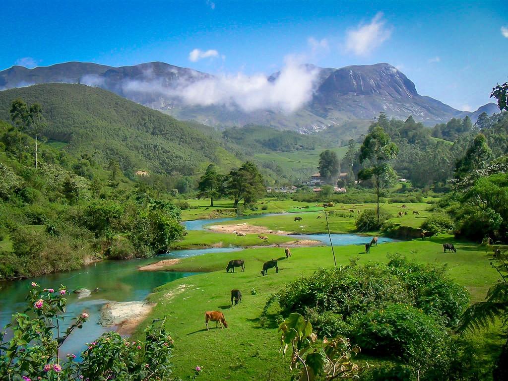 Anamudi Peak in Munnar Kerala